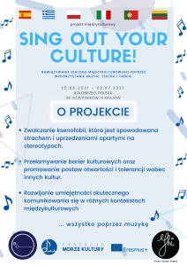 Plakat - SING OUT YOUR CULTURE!